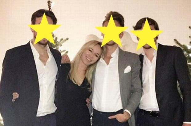 Joanna Przetakiewicz pokaza�a syn�w na Instagramie. Internauci: Jacy przystojni! Przesada? Nie tym razem