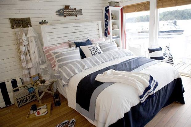 styl morski we wn trzu wn trza aran acje wn trz inspiracje. Black Bedroom Furniture Sets. Home Design Ideas