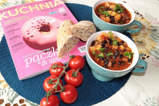 Zupa fasolowa z mięsem i chilli
