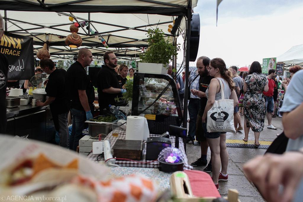 Falafel Contest i Wege Targ nad Wisłą / %Fot. Dawid Zuchowicz / Agencja Gazeta