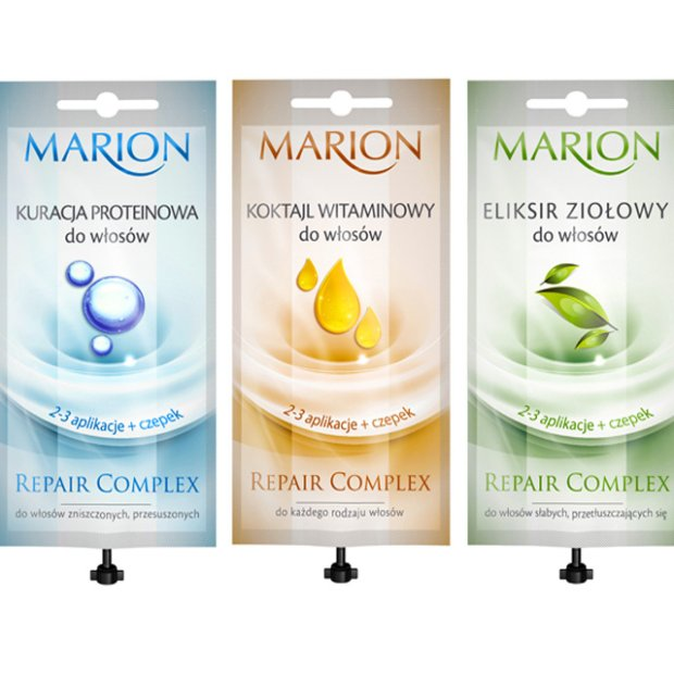 Marion: od�ywki regeneruj�ce do w�os�w