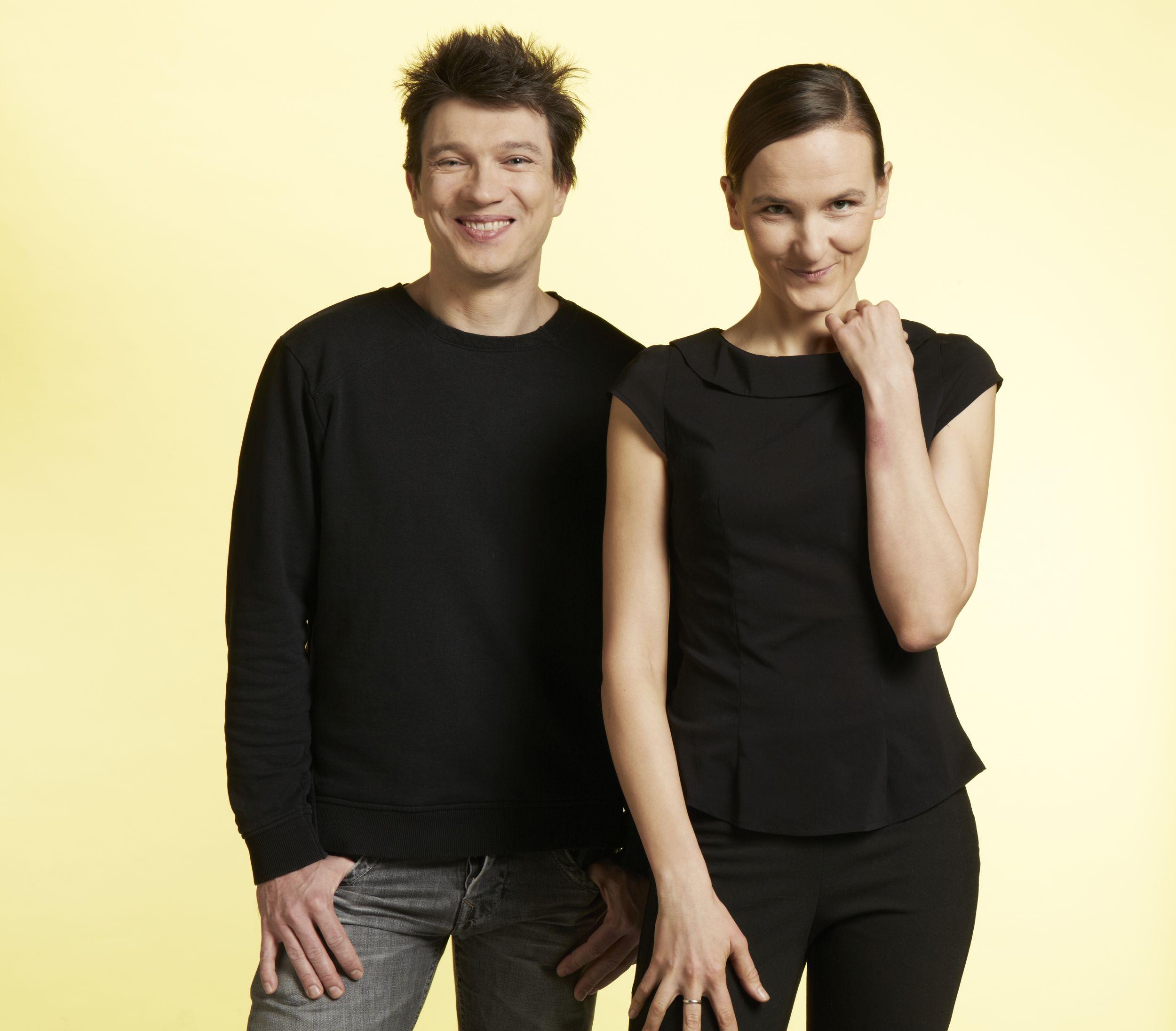Grzegorz Sroczyński i Agnieszka Jucewicz (fot. Agata Jakubowska)