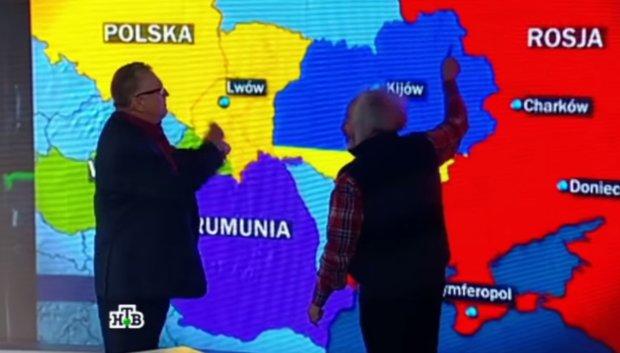 """""""Dla Ukrainy to i tak za du�o"""". �yrinowski w telewizji o polsko-rosyjskim rozbiorze kraju"""