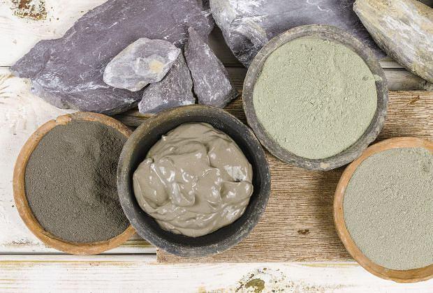 Wykorzystaj moc minerałów zawartych w glince