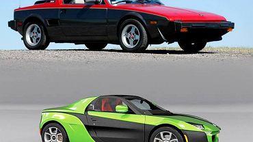 Idecore Fiat XXX Concept vs Fiat X1/9