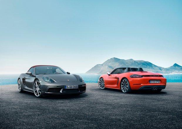 Porsche 718 Boxster i Boxster S | Nowa nazwa i 4-cylindrowe silniki turbo