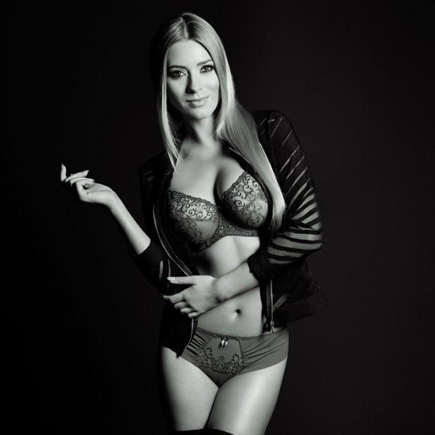 Marcelina Zawadzka prezentuje najnowszą kolekcję bielizny marki Dalia