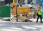Przy budowie metra zapad�a si� Targowa. By�a ewakuacja [WIDEO]