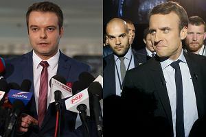 Rzecznik rządu oburzony słowami Macrona. Nie godzimy się na wykorzystywanie Polski