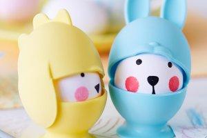 Wielkanoc: akcesoria do jajek i z jajem