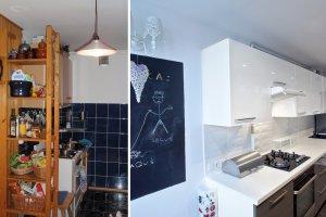Metamorfoza kuchni i łazienki w mieszkaniu w bloku