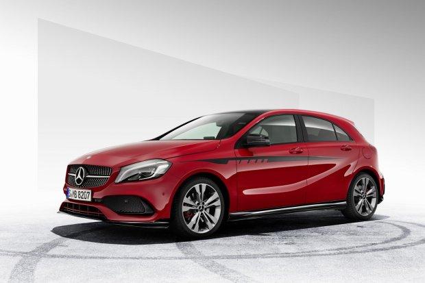 Mercedes klasy A z pazurem