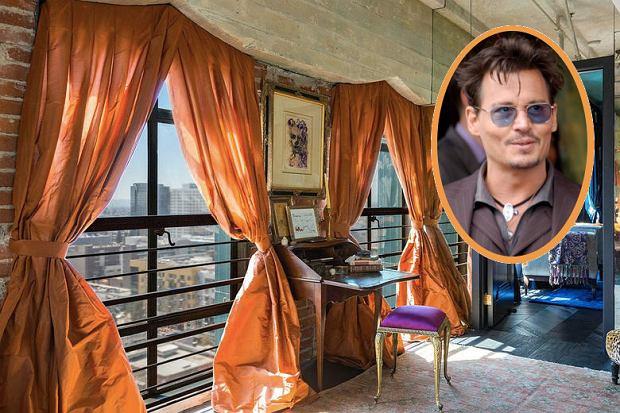 Dwupoziomowy penthouse. To może być tylko mieszkanie Johnny'ego Deppa [ZDJĘCIA]
