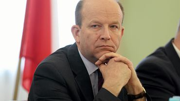 Minister zdrowia Konstanty Radziwiłł