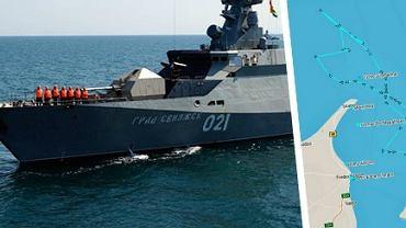 Media: Dwie rosyjskie korwety rakietowe wp�yn�y w�a�nie na wody Ba�tyku