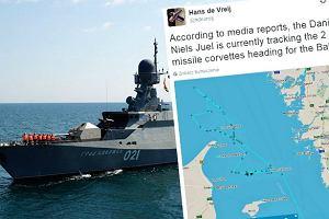 """Media: Dwie rosyjskie korwety rakietowe właśnie wpłynęły na wody Bałtyku.  """"To zmienia równowagę sił"""""""