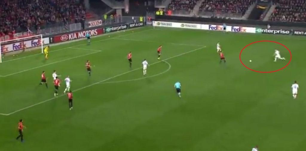 Tomasz Kędziora strzelił gola w Lidze Europy