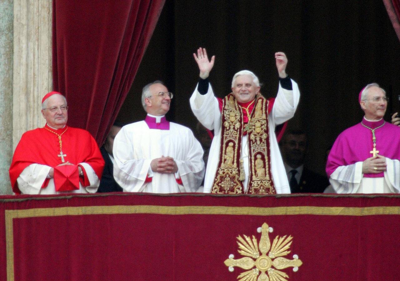 Benedykt XVI (fot. Kuba Atys)