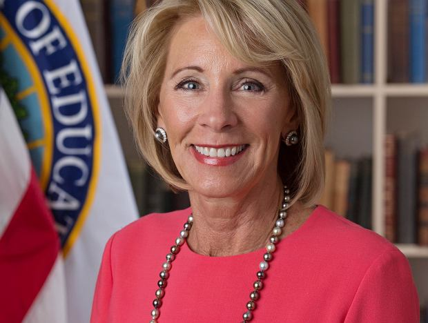 Betsy DeVos, sekretarz edukacji USA