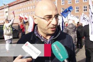 Manifestacja KOD pod Urzędem Wojewódzkim w Gdańsku