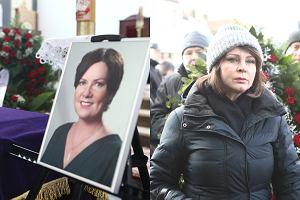 Pogrzeb Agnieszki Kotulanki, Izabela Trojanowska