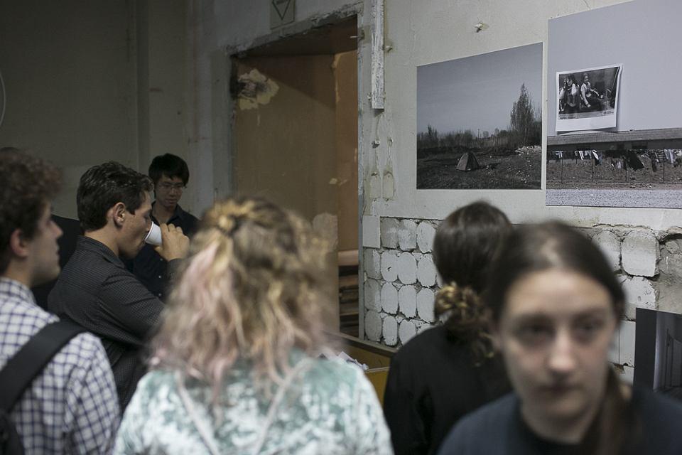 Wernisaż wystawy Omara Marquesa 'Images of the Unseen' został zakłócony przez członków Młodzieży Wszechpolskiej.