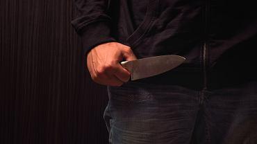Atak z nożem