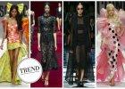 Dolce&Gabbana, Moschino, Tom Ford. Trendy prosto z wybiegów inspiracją na imprezę Halloween?