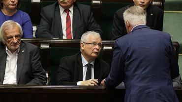 Ryszard Terlecki, Jarosław Kaczyńskii Jarosław Gowin