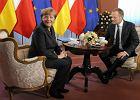 Angela Merkel ju� w Warszawie. Tusk chce m�wi� o uzale�nieniu Niemiec od rosyjskiego gazu