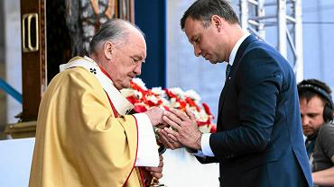 Kard. Nycz i Andrzej Duda