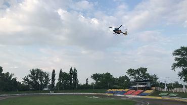 Wypadek na stadionie żużlowym w Opolu