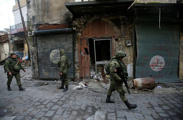 z21331098Q,Rosyjscy-zolnierze-w-Aleppo.j