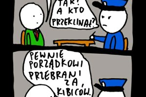 Absurd kamizelkowy: burmistrz przebra� kibic�w za ochroniarzy [MI� 2014]
