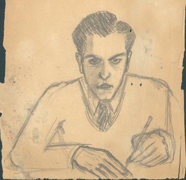 Zdjęcie numer 0 w galerii - Niezwykła kolekcja Baczyńskiego: rękopisy, rysunki, listy