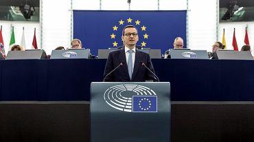 Mateusz Morawiecki tłumaczył 4 lipca europosłom zmiany w sądownictwie dokonywane przez swój rząd