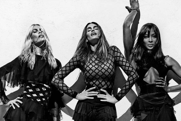 Supermodelki w kampanii Balmain wiosna-lato 2016