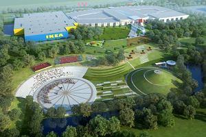 IKEA wstrzymuje budowę dużego centrum handlowego w Zabrzu. Przez zmieniające się warunki rynkowe