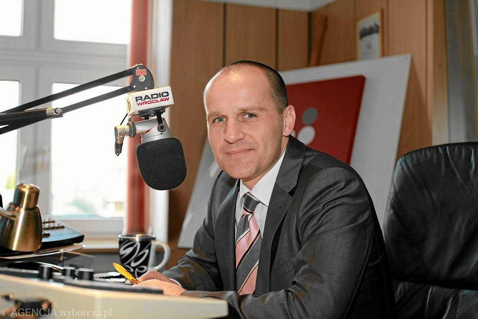 Tomasz Duda, odwołany prezes Radia Wrocław