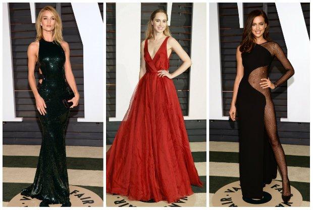 Oscary 2015: Modelki na oficjalnej gali i na after party Vanity Fair. Czyje kreacje wybra�y na ten wyj�tkowy wiecz�r?