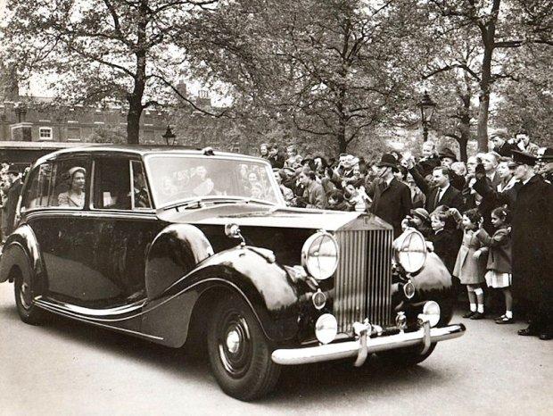 Rolls Royce Phantom IV Królowej