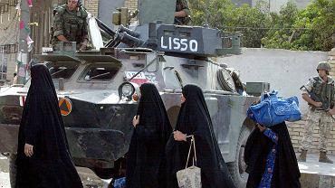 14. października 2003 r., polski patrol w Karbali