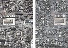 Przed i po bombardowaniu. Pogr��one w chaosie wojny Aleppo na zdj�ciach satelitarnych