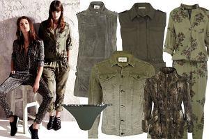 Wojskowy trend wed�ug River Island - moro, khaki i odcienie br�zu