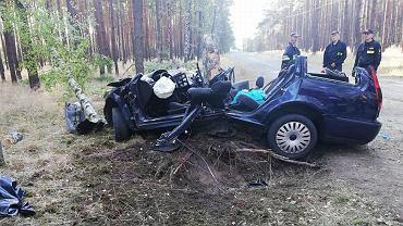 Wypadek w Lubuskiem. Kobieta na pomoc czekała do rana