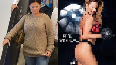 Kamila Saganowska przed i po metamorfozie