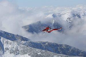 Trudne warunki w Tatrach, wypadki, ratownicy TOPR w akcji