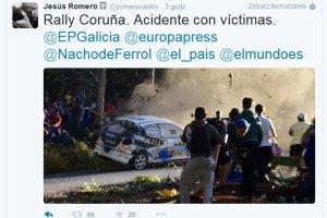 Tragiczny wypadek podczas samochodowego rajdu w Hiszpanii