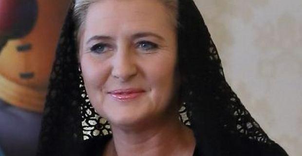Agata Duda na audiencji u papieża.      Pierwsza dama zbyt rygorystycznie potraktowała protokół
