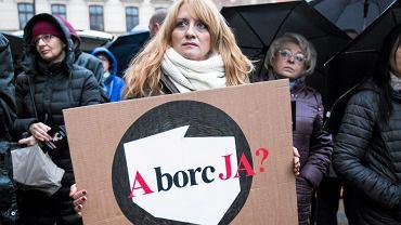 Czarny Protest w Lublinie.